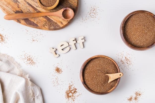 Teff starożytne drobne ziarna z kuchni erytrei i etiopii oraz bezglutenowa alternatywa zdrowego odżywiania
