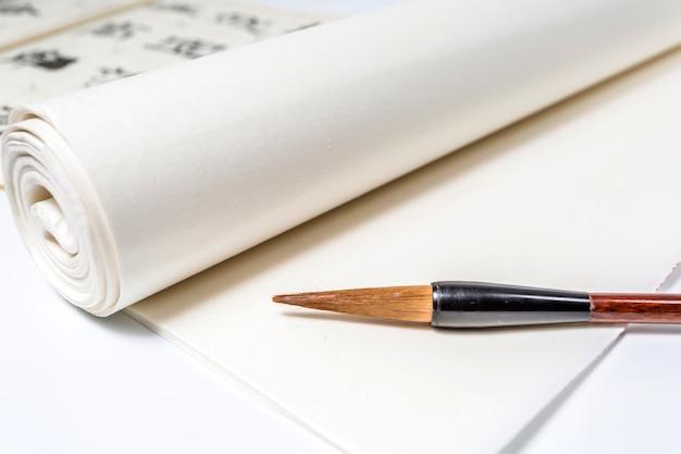Tekst tło szczotka etniczność sztuka china