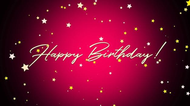 Tekst z okazji urodzin zbliżenie na czerwonym tle