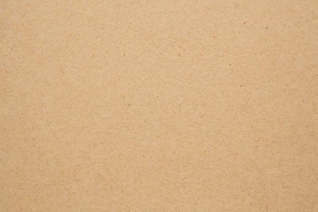 Tekstura arkusza papieru kraft brązowy z recyklingu