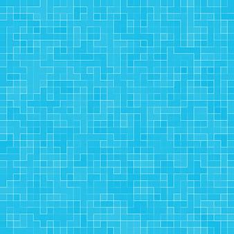 Tekstura basen mozaika dachówka tło. tapeta, baner, tło.
