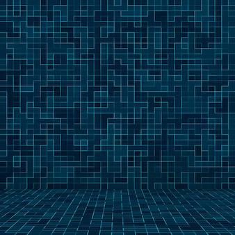 Tekstura basen mozaika tło tapeta baner tło