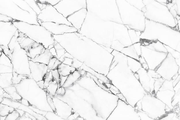 Tekstura białego marmuru z naturalnym