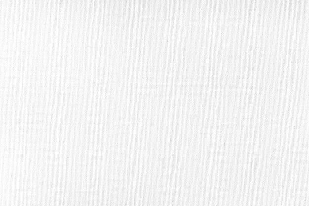 Tekstura białego płótna z białą farbą