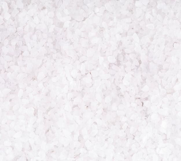 Tekstura białego soli kamień do kąpieli