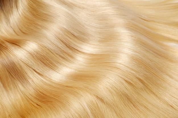 Tekstura blond włosy