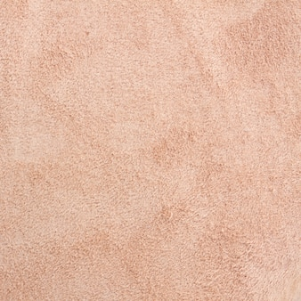 Tekstura brązowego zamszu wieprzowego makro tła