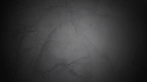 Tekstura cementu i szarego na czarne tło gradientowe koło. bez ludzi.