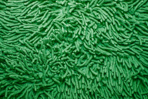 Tekstura chłonnej tkaniny bawełnianej. miękki dywan tekstura tło