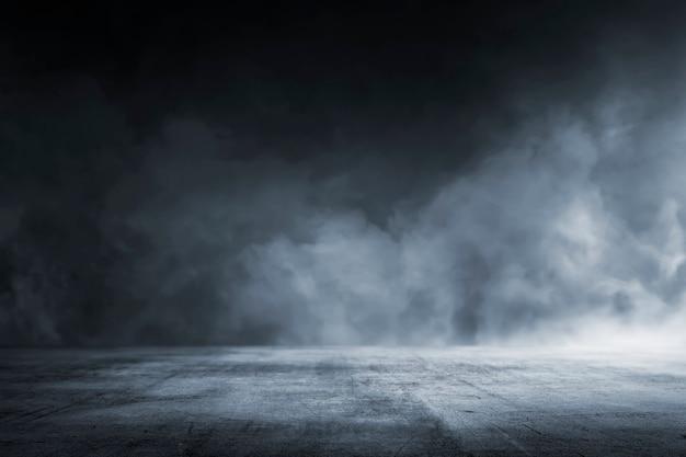 Tekstura ciemna betonowa podłoga