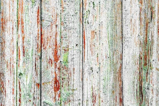 Tekstura drewna ściany tła. drewniana tekstura z zadrapaniami i pęknięciami