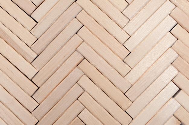 Tekstura drewnianych klocków