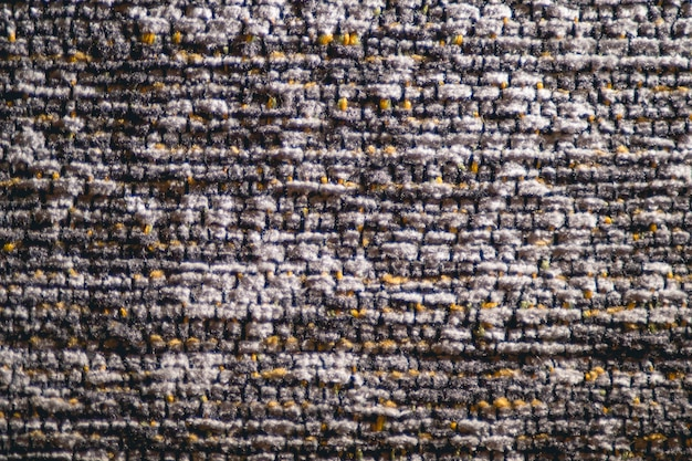 Tekstura dywanu z poliestru i bawełny w dwóch kolorach