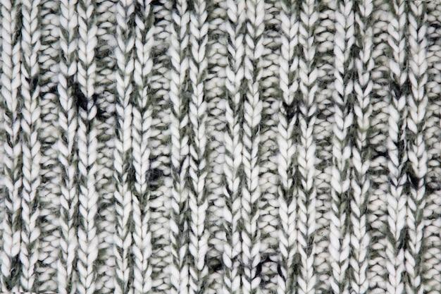 Tekstura dzianej wełny