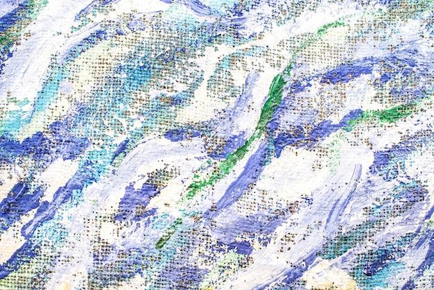 Tekstura farby na płótnie kolorowe obrazy