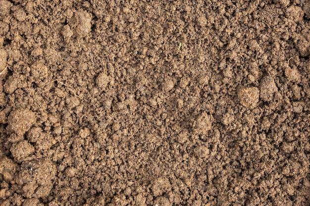 Tekstura gleby brudu nawozu