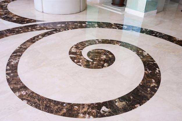 Tekstura granitowej podłogi