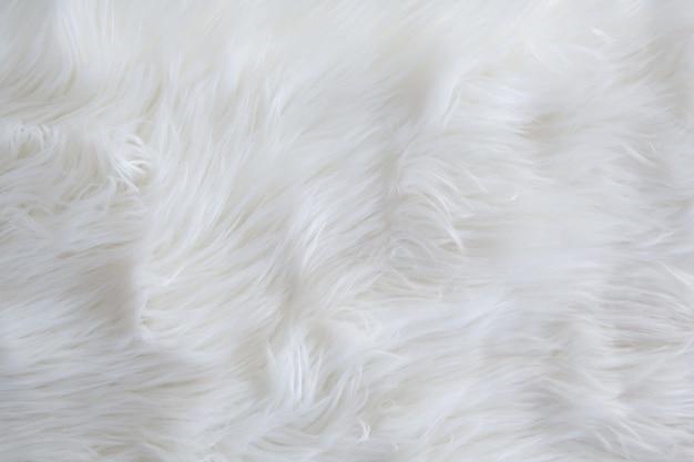 Tekstura i tło w kratę z futra lub skóry futrzanej