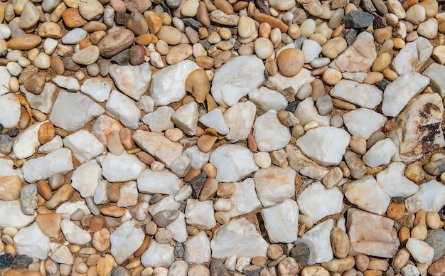 Tekstura kamieni jest bardzo lekka. natura.