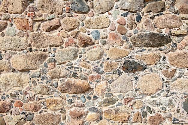 Tekstura kamiennego muru.