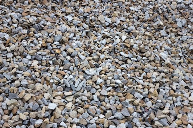Tekstura kolorowy kamień kruszony