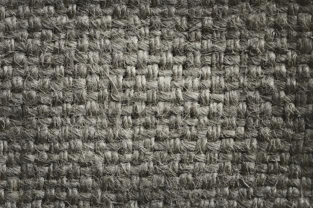 Tekstura konopianej arkany worka tło.