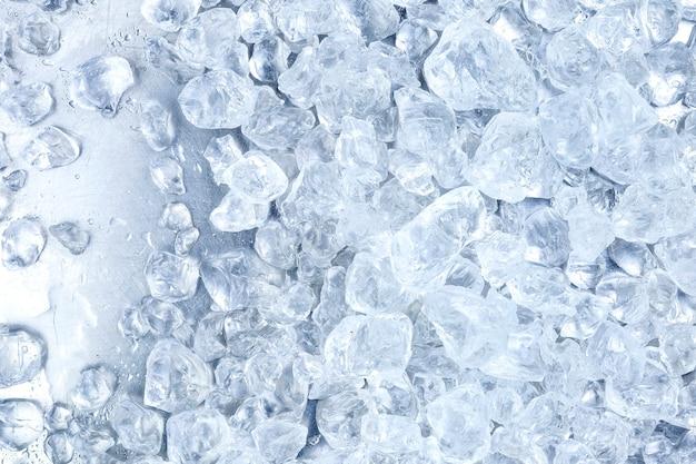Tekstura kruszonego lodu