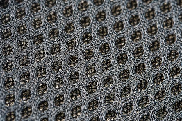 Tekstura materiału odzieży sportowej i obuwia
