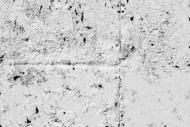 Tekstura metalowej ściany z pęknięciami i zarysowaniami w tle