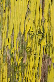 Tekstura obieranie farby z drewnianych drzwi