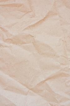 Tekstura papieru brązowy arkusz papieru