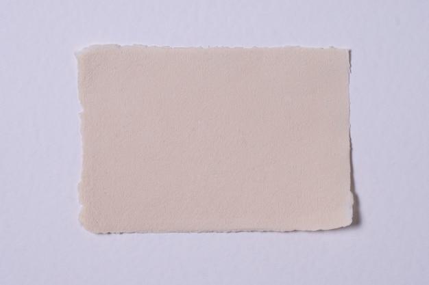 Tekstura papieru z widokiem z góry