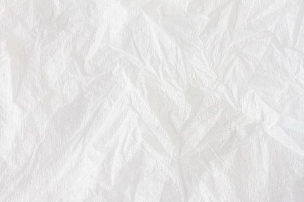 Tekstura paski i białe tło na chusteczki papierowe
