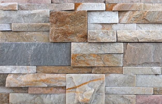 Tekstura piaskowca. naturalny dekoracyjny materiał budowlany.