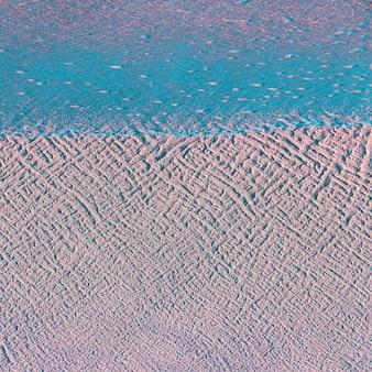 Tekstura piasku. minimalna grafika koncepcyjna