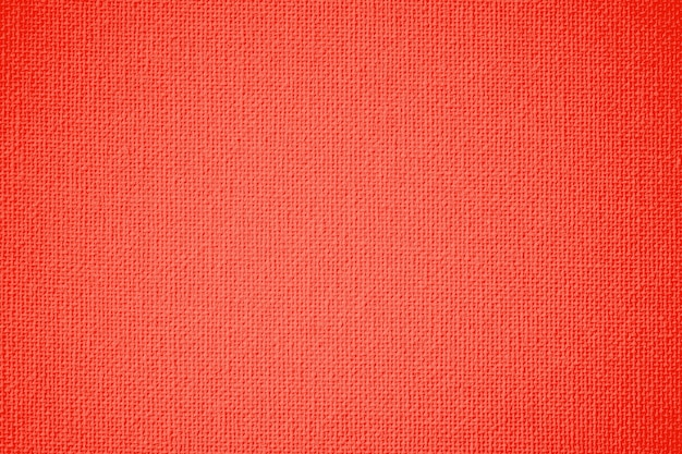 Tekstura płótna koloru pomarańczowego