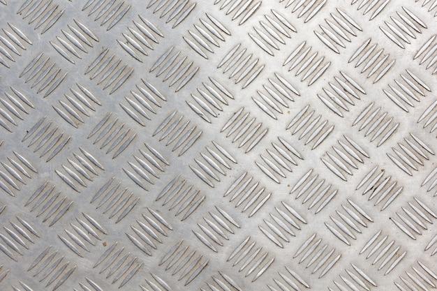 Tekstura płyty podłogowej ze stali nierdzewnej