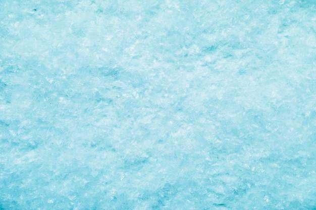 Tekstura powierzchni śniegu