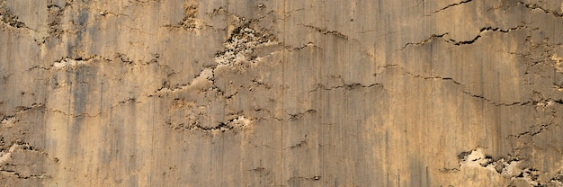 Tekstura powierzchni z gładkiej powierzchni piasku i ziemi