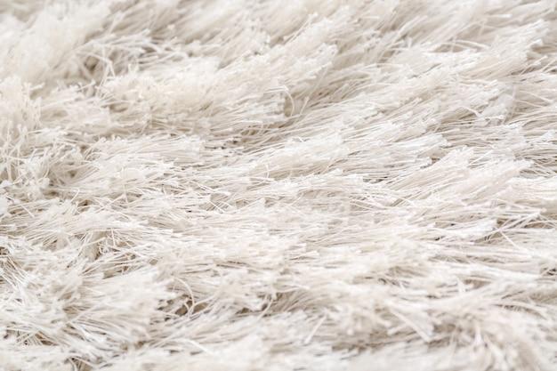 Tekstura puszystego dywanu
