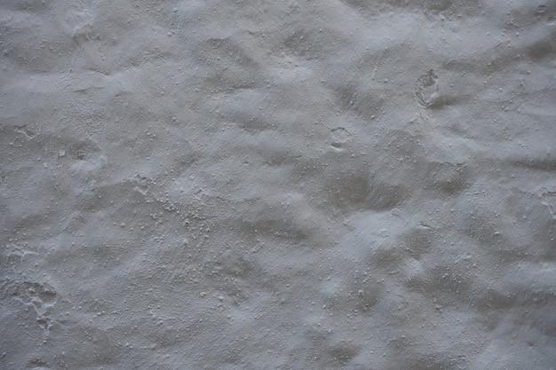 Tekstura reliefowej powierzchni cementu lub betonu. szorstki biały stiuk ulga tekstura tło ściany