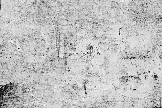 Tekstura, ściana, betonowy tło. fragment ściany z zadrapaniami i pęknięciami