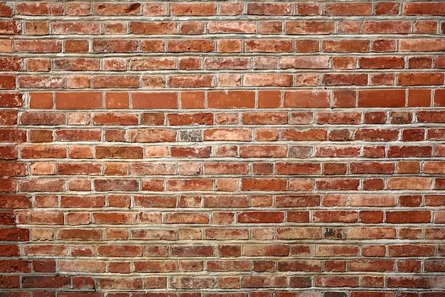 Tekstura ściana z czerwonej cegły. abstrackt tekstura tło.