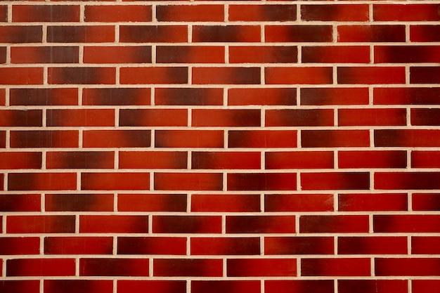 Tekstura ściana z czerwonej cegły. tekstura tło.