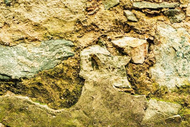 Tekstura ściany betonowe tło. fragment ściany z rysami i pęknięciami