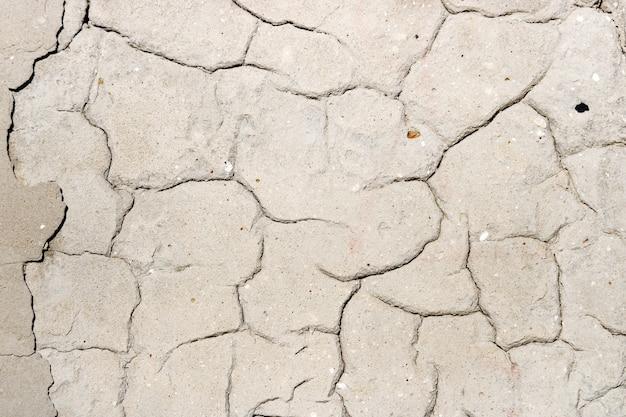 Tekstura ściany betonowej z pęknięciami. abstrakcyjne tło
