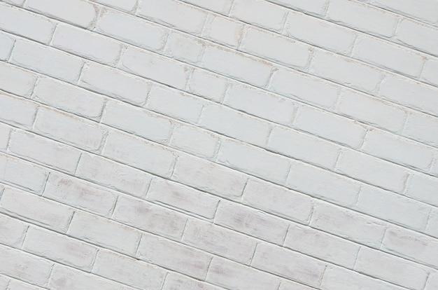 Tekstura ściany z cegły, pomalowane na biało