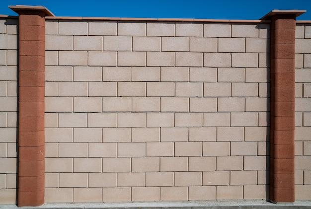 Tekstura ściany z płytek betonowych