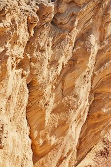 Tekstura skał na tle morza