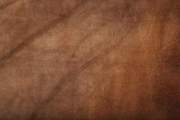 Tekstura skóry brązowej